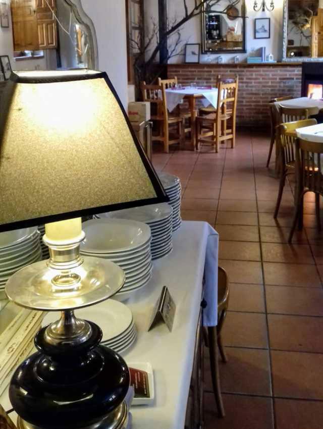 restaurante en barro cocido